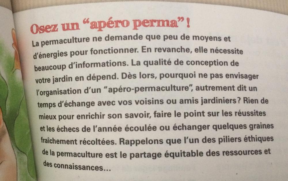 """Extrait de la revue """"Les 4 saisons du jardin bio"""" aux éditions Terre Vivante"""